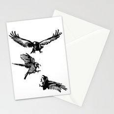 Crow Parliament Stationery Cards