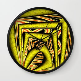 Have a little orange with your lemon... Wall Clock