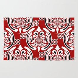 Three colors pattern Rug