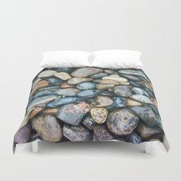 Sea Pebbles Duvet Cover