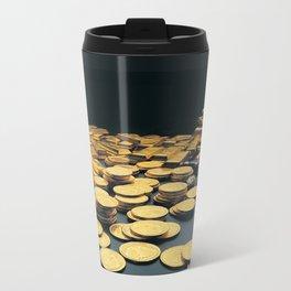 Gold Coins Travel Mug