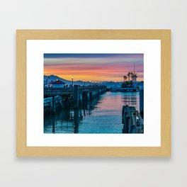 Pier 41 San Francisco Framed Art Print