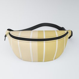 Two Tone Stripes - Yellow Fanny Pack