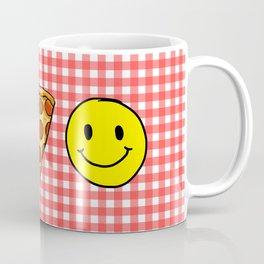 Beer Pizza Happiness Coffee Mug