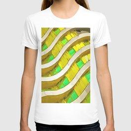 Pop Art Urban Architecture Apartment Block T-shirt