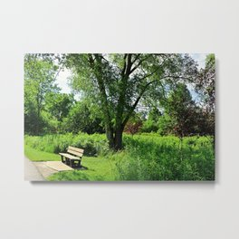 A Time for Silence Metal Print