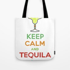 Keep Calm Tequila - white Tote Bag