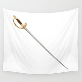 French Infantry Officer Sword Wall Tapestry