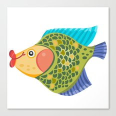 Cute Fish Canvas Print