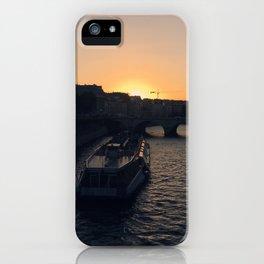 #ParisPostcards || Seine iPhone Case