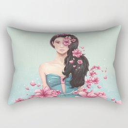 Arden Cho - Sakuras Rectangular Pillow