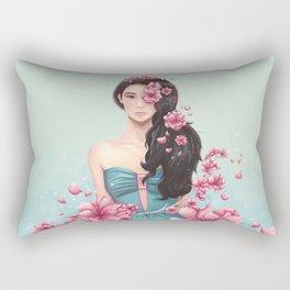 Arden Cho - Sakuras Rectangular Pillow