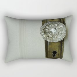 Glass Door Knob Rectangular Pillow