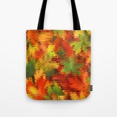 Autumn Triangles 28/04/14 Tote Bag