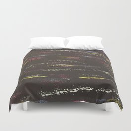 Same direction, different wavelengths Duvet Cover