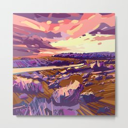 american landscape Metal Print