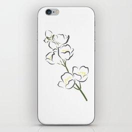 Jasmine iPhone Skin