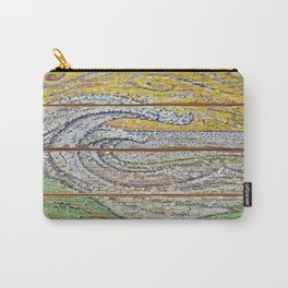 Waves on Grain Carry-All Pouch
