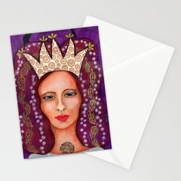 Queen of Everything Stationery Cards