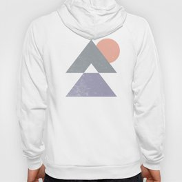 Mountain Peaks Sunset Hoody