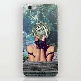 atmosphere 45 · in a gadda da vida iPhone Skin