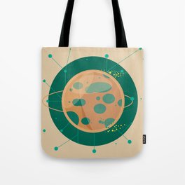 Planet C - Trappist System Tote Bag