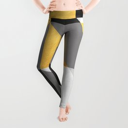 Gold Composition I Leggings