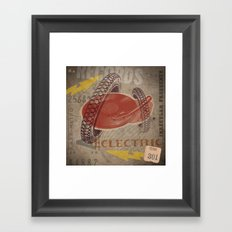 Eclectric Vibes Framed Art Print