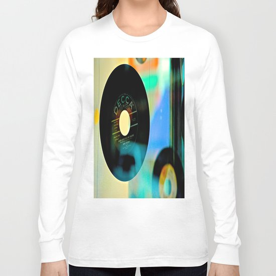 Nothing Sounds Like Vinyl Long Sleeve T-shirt