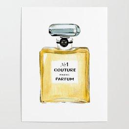 Yellow Parfum Poster