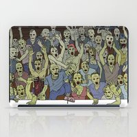 zombies iPad Cases featuring Zombies!!! by Justin McElroy