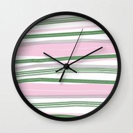 Brushstroke 01 Wall Clock