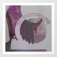 Sedona Melt Art Print