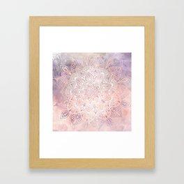 Mandala Bohemian Fall Framed Art Print