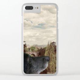 Sous le ciel de Paris Clear iPhone Case