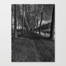 Damme, Belgium Canvas Print