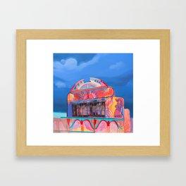 Strawberry Days Framed Art Print