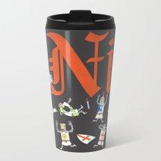 Ni! Metal Travel Mug
