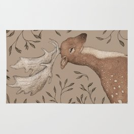 The Fallow Deer and Oats Rug