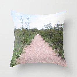 Clovis Site, No. 1 Throw Pillow