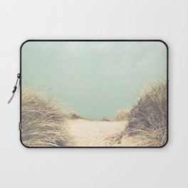 The Way To The Beach Laptop Sleeve