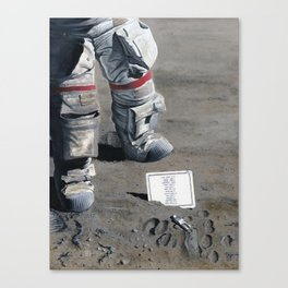 Moon Memorial Canvas Print