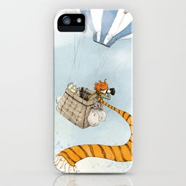 Adventure on an Air Balloon iPhone Case