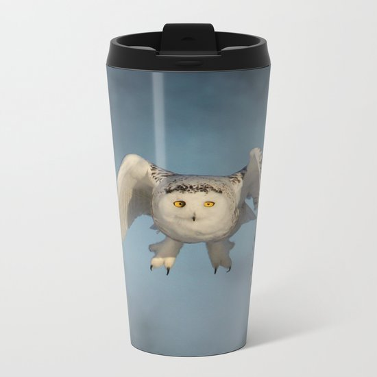 From the mist cometh mystery Metal Travel Mug