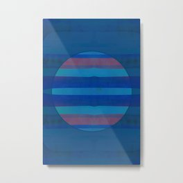 Once Under The Blue Moon Metal Print