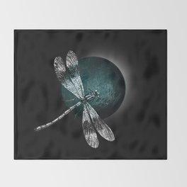 DRAGONFLY IV Throw Blanket