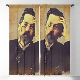Anton Chekhov, Literary Legend Blackout Curtain
