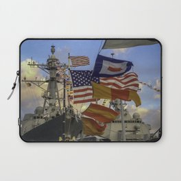 Full Flagged Ship Laptop Sleeve
