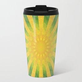 yellow rays Travel Mug