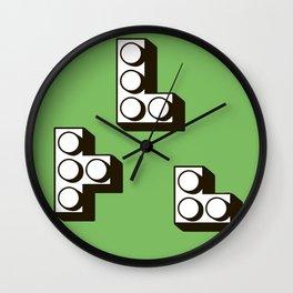 Tetromino Wall Clock